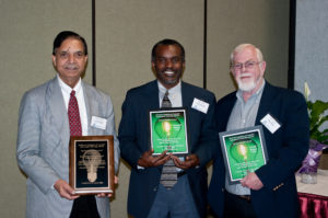 2009 Awardees Ramesh Kanwar, Desmond Mortley, Gerry Deitzer